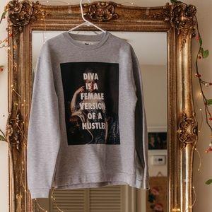 Beyonce x Marie Antoinette Diva Sweatshirt sL Rad